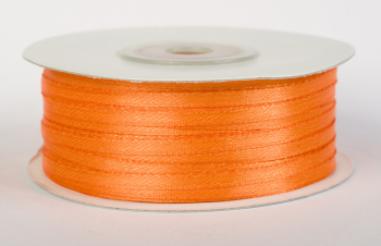 Satinband 3mm breit orange