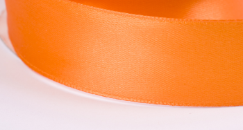 Satinband 25mm breit orange