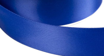 satinband double face 6mm farbe royalblau