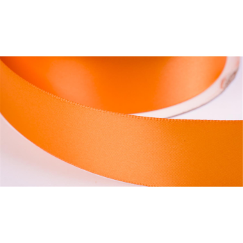 satinband double face 9mm farbe orange