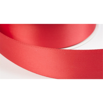 satinband double face 19mm farbe rot