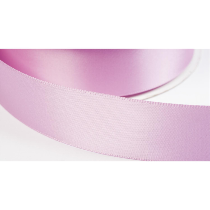 satinband double face 25mm farbe orchid