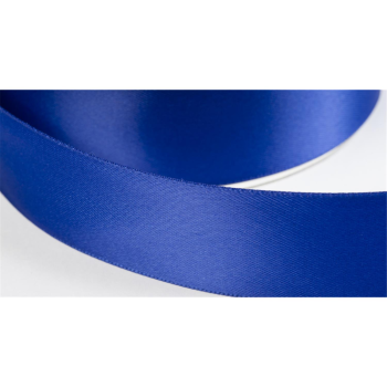 satinband double face 38mm farbe royalblau