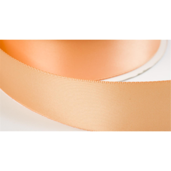 satinband double face 50mm farbe lachs